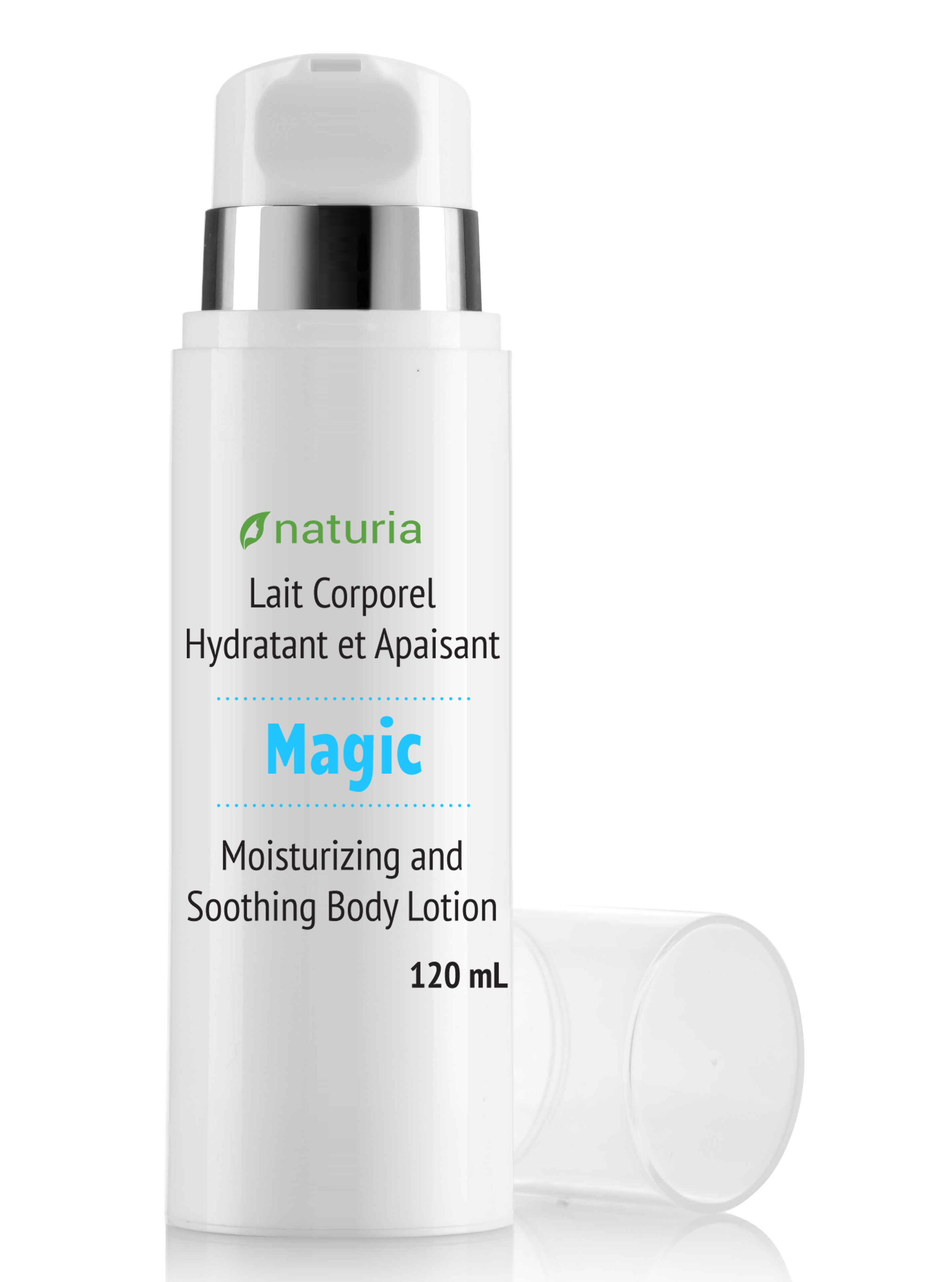 Natural moisturizing lotion